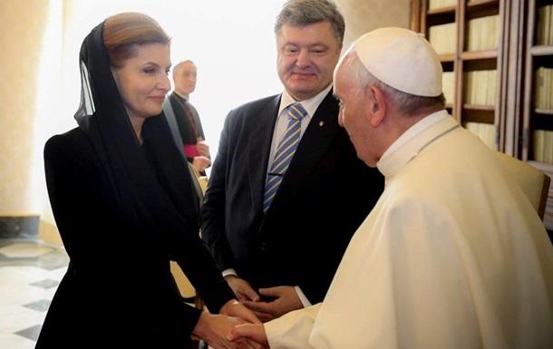 Папа, Крым и Порошенко
