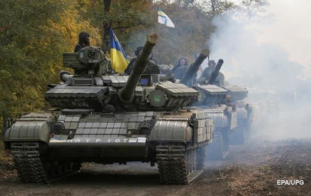 Украинской армии запретили стрелять в зоне АТО