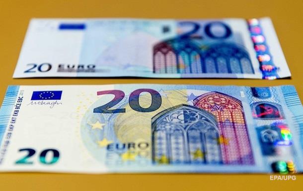 евро банкноты нового образца