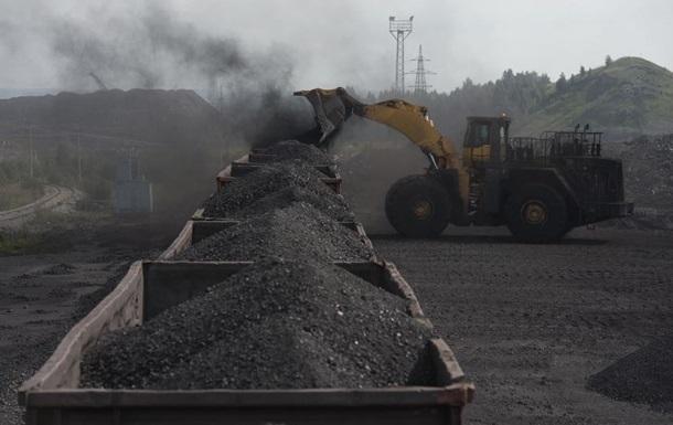 Поставки угля ДНР - Украина