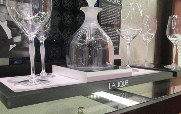 Новая экспозиция французского хрусталя Lalique в Decoroom