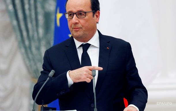 Олланд рассказал о планах бомбить нефтяные конвои в Сирии