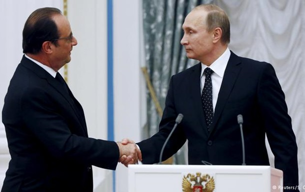 Россия и Франция договорились вместе воевать с ИГ