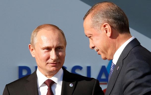 Кремль подтвердил звонок Эрдогана Путину по Су-24