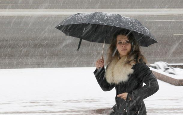 На выходных в Киеве выпадет снег