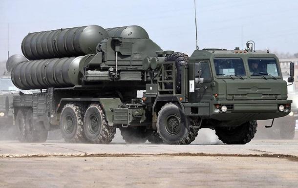 Российские ЗРК С-400 в Сирии