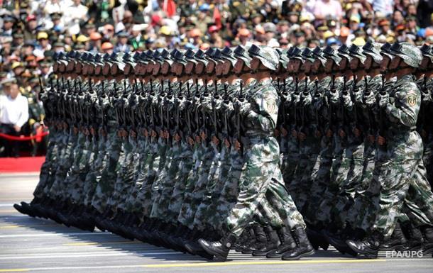 Китай объявил о повышении боеготовности армии
