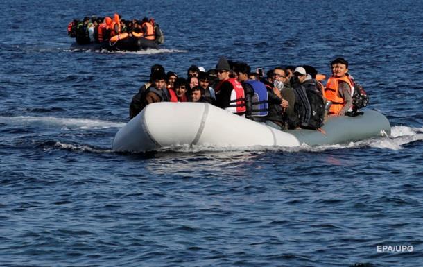 Две лодки с беженцами затонули в Эгейском море