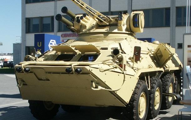 Армия приняла на вооружение украинский БТР-3