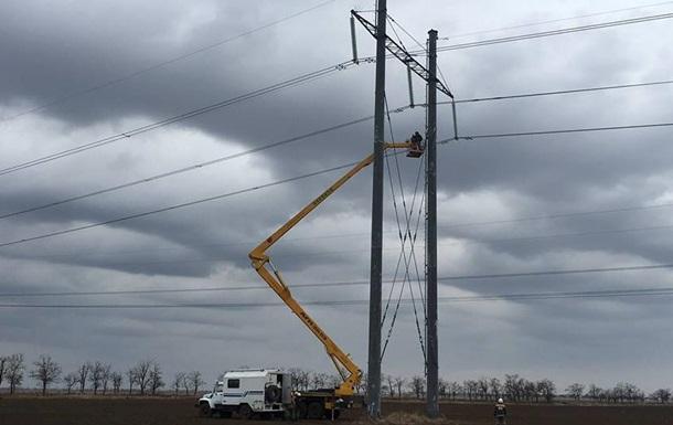 Крым без света: активисты разрешили ремонт ЛЭП