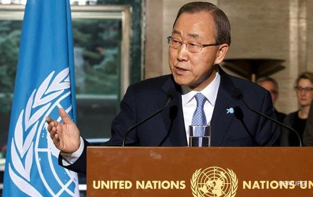 Пан Ги Мун призвал Россию и Турцию снизить напряженность