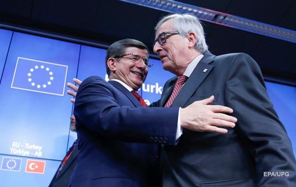 ЕС отменит визовый режим для Турции в 2016 году