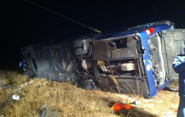 ДТП с автобусом Москва-Донецк: есть жертвы