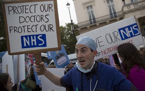 Тысячи пациентов в Британии остались без медпомощи