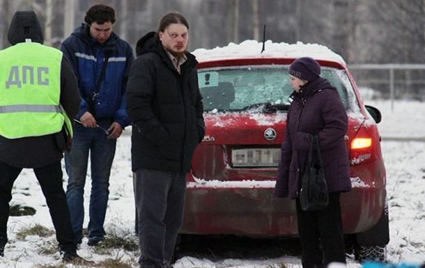 В России пьяный священник сбил женщину на переходе
