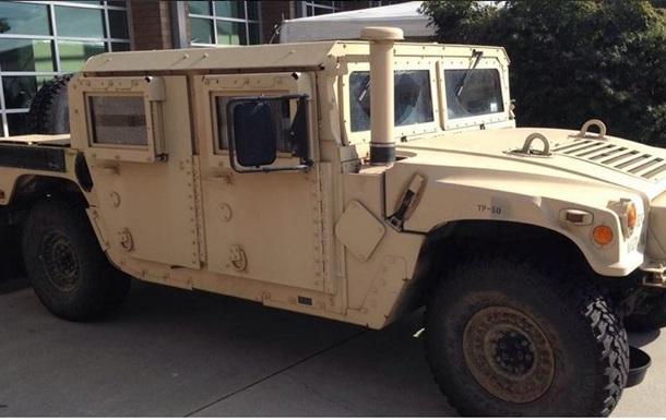 Hummer из США бэушные, но годные к эксплуатации - Минобороны