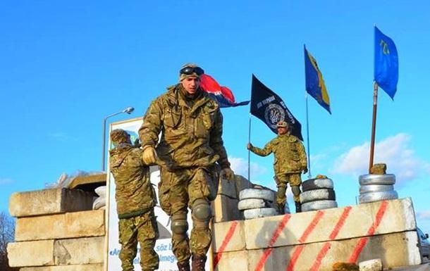 Умер один из участников блокады Крыма