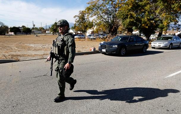 Полиция застрелила одного из нападавших в Калифорнии