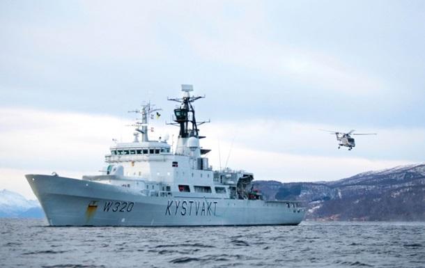 Береговая охрана Норвегии задержала судно РФ