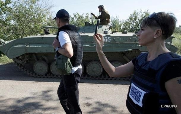 Вооруженные люди угрожали миссии ОБСЕ в Луганске