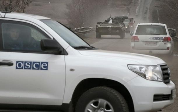 ОБСЕ увидела в Донбассе неотведенные гаубицы