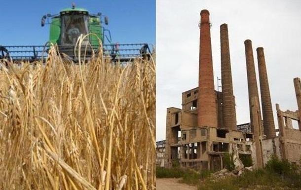 Украина рискует стать большим селом