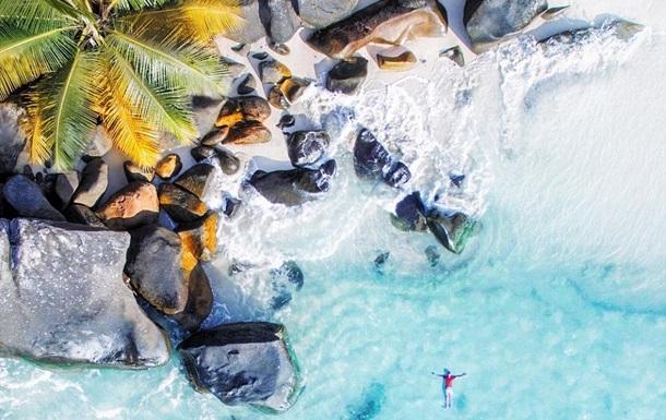 Сейшельские острова с дрона