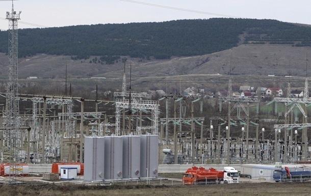 В Крыму отключают резервное электроснабжение