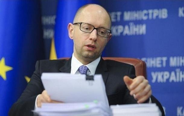 Премьер Арсений Яценюк