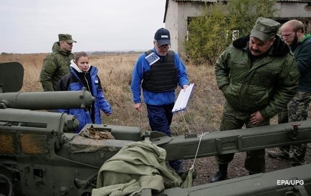 Наблюдатели ОБСЕ патрулируют Горловку