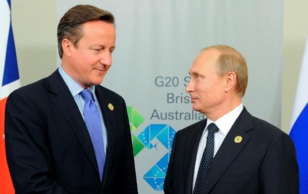 Кэмерон и Путин договорились вместе бороться с ИГ