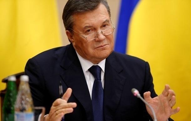 Янукович заявил, что знает, кто расстрелял Майдан
