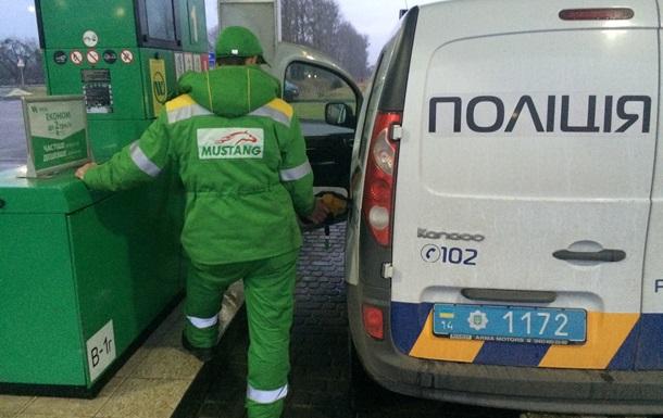 На Львовщине полицейские украли четыре литра бензина