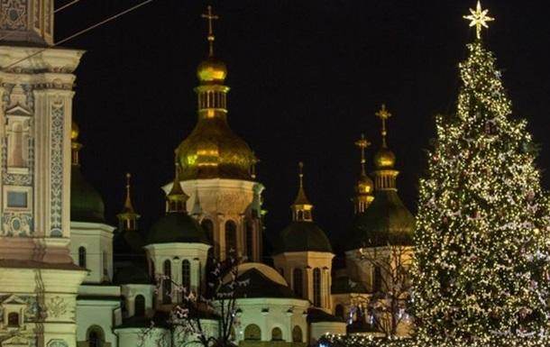 В центре Киева ограничили движение до конца января