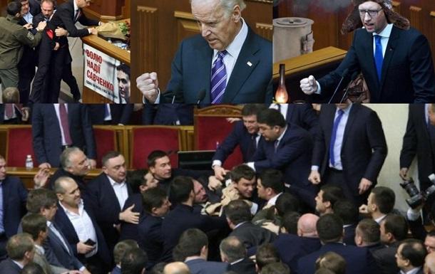 «Политический идиотизм» в Киеве