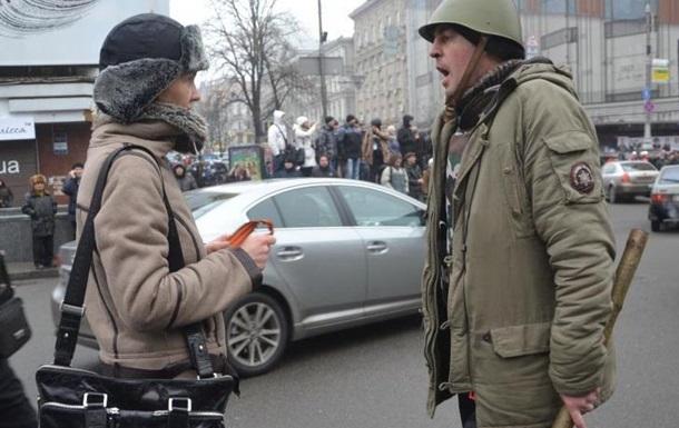 В Киеве можете спокойно выйти с транспарантом против Евромайдана!