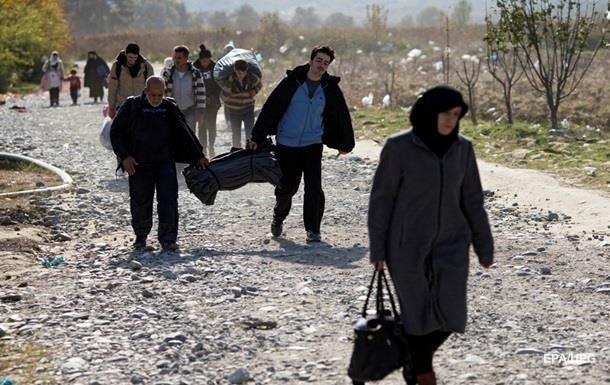 Беженцы начали покидать Австрию