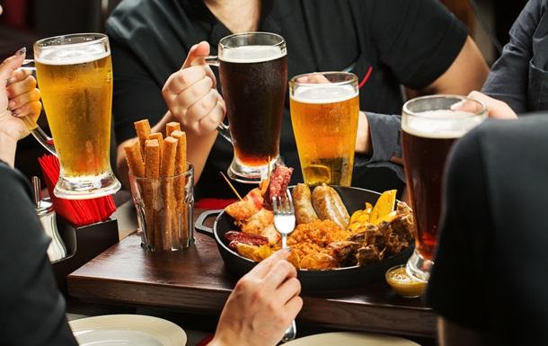 Миф о пивном животе