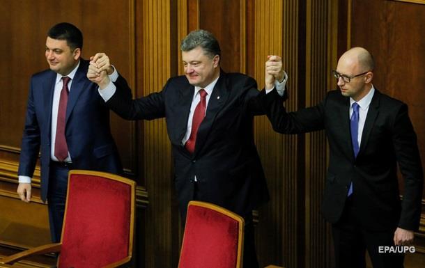 В коалиции отставку Яценюка считают неактуальной
