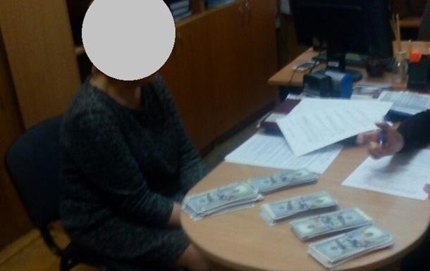 Руководителя управления юстиции Киева задержали на взятке в $50 тысяч