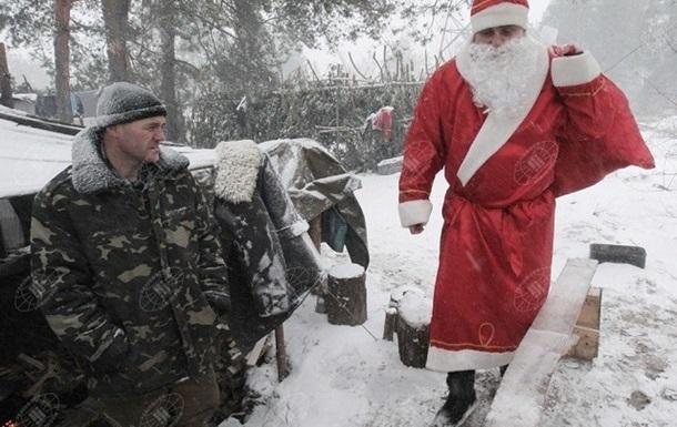В Донбассе обещают не стрелять на новогодние праздники