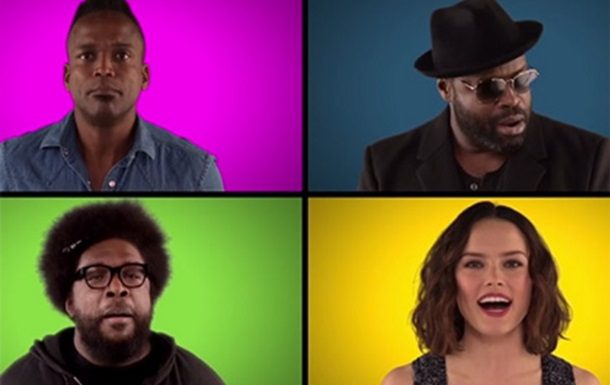 Актеры из  Звездных войн  спели саундтрек а капелла
