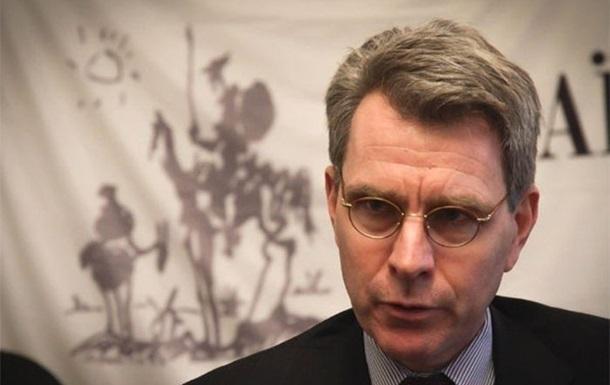 Посол США о  заявлении трех : Меньше политики, больше реформ