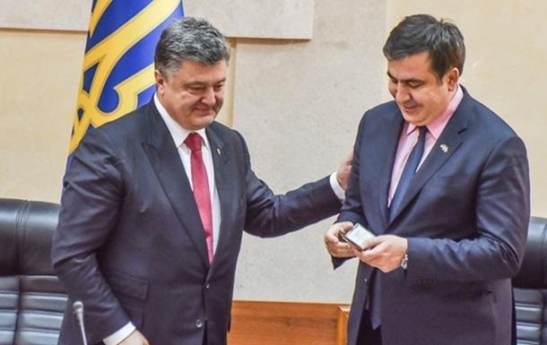 Порошенко ответил на заявление Путина о Саакашвили