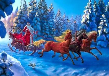 Отказавшись от Деда Мороза вы остались без Нового года... Вообще, без будущего