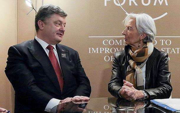 МВФ велел Украине отдать российский долг