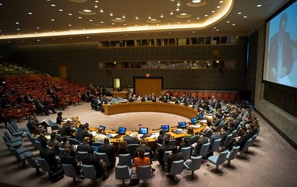 Радбез ООН погодив проект резолюції поСирії
