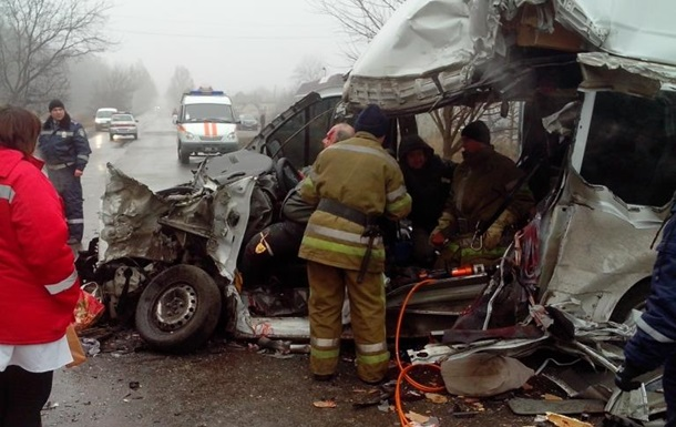 Три человека погибли в результате ДТП на Днепропетровщине