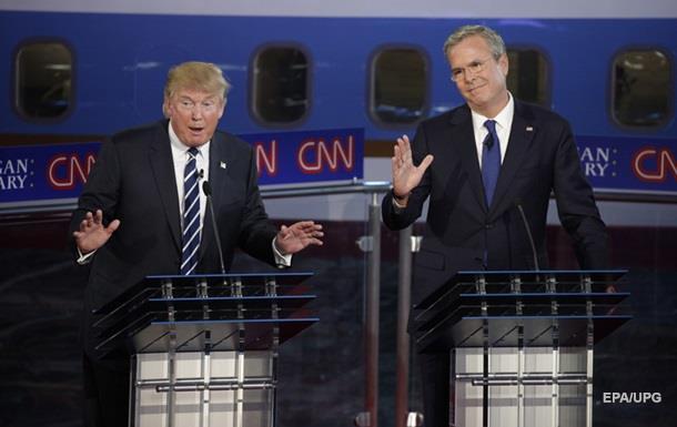 Джеб Буш назвал Трампа  ничтожеством