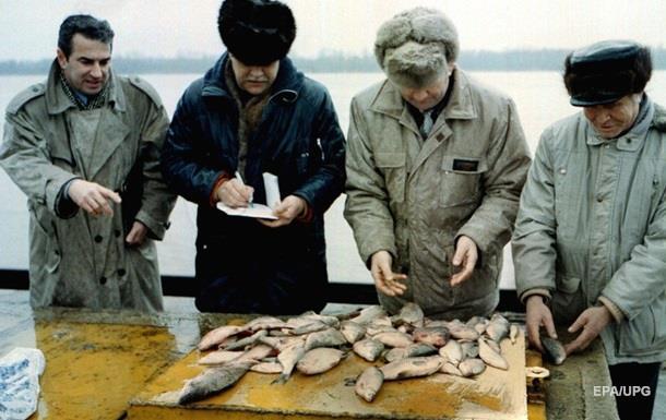 Вылов рыбы в Украине упал на 12,4%
